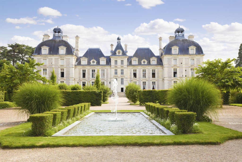 Cheverny Chateau panoramic